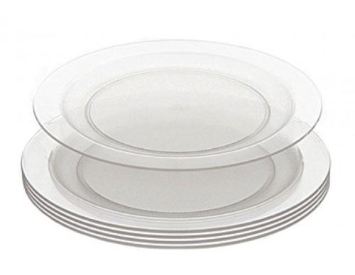 assiettes compostables
